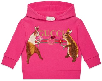Gucci Baby Canvas Menagerie sweatshirt