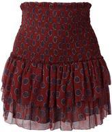 Etoile Isabel Marant ruffled layered skirt - women - Silk/Viscose - 38