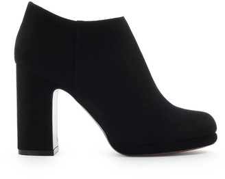L'Autre Chose Lautre Chose Black Suede Heel Ankle Boot