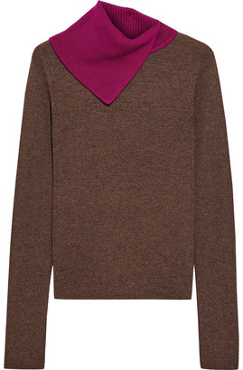 See by Chloe Two-tone Wool Sweater