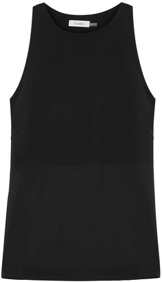 Vaara Bettina Black Stretch-jersey Top