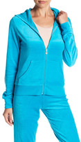 Juicy Couture Robertson Velour Front Zip Jacket