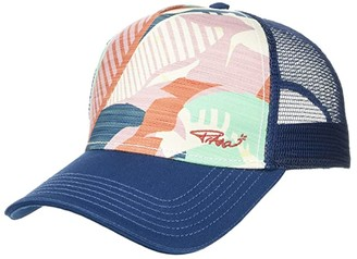 Prana La Viva Trucker Hat (Atlantic Paloma) Caps