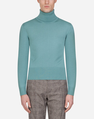 Dolce & Gabbana Cashmere And Silk Turtle-Neck Sweater
