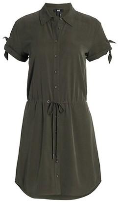 Paige Avery Button-Up Shirtdress