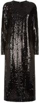 McQ Relaxed Sequin Midi Dress