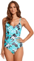 Seafolly Tropical Vacay One Piece Swimsuit (DDCup) - 8158963