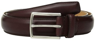 Cole Haan 32mm Full Dome Stitch Strap Harness Buckle (Cordovan) Men's Belts