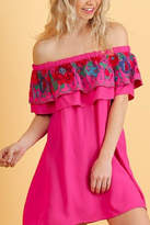 Umgee USA Hot Pink Dress