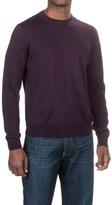 Aqua by Toscano Wool Sweater - Crew Neck (For Men)