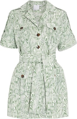 C/Meo Collective Energised Belted Shirt Dress