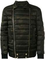 Balmain camouflage padded jacket