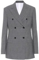 Calvin Klein Checked wool jacket