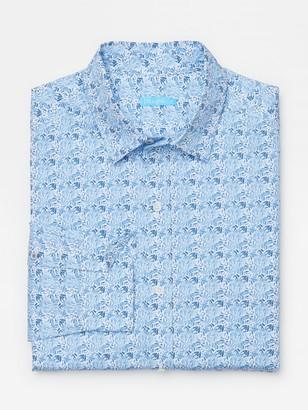 J.Mclaughlin Gramercy Classic Fit Shirt in Mini Petal
