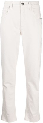 Brunello Cucinelli Mid-Rise Cropped Jeans