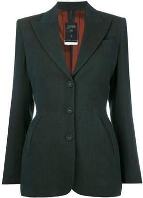 Jean Paul Gaultier Pre-Owned fitted blazer