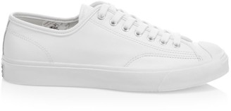 Converse Men's Foundational Leather Jack Purcell Low-Top Oxford Sneakers
