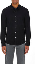 James Perse Men's Cotton Corduroy Shirt-NAVY