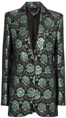 Paco Rabanne Floral brocade blazer