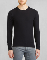 Belstaff Hadleigh Crew Neck Sweater Navy