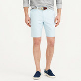 "J.Crew 9"" Short In Oxford Cloth In Dusty Aqua"