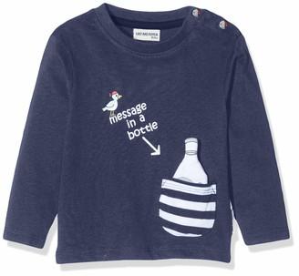 Salt&Pepper Salt & Pepper Baby Boys' Mit Kleiner Gestreiften Tasche Long Sleeve Top