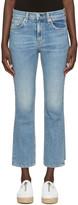 Rag & Bone Indigo 10 Inch Stove Pipe Jeans