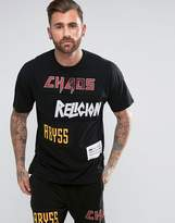 Religion T-Shirt With Patches