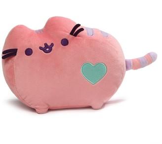 Gund Pusheen Heart Pastel Cat Plush Stuffed Animal - Pink
