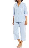 Miss Elaine Petite Striped Pajamas