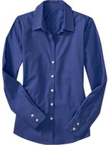 Women's Classic Button-Front Shirts