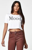 La Hearts Mood Cropped Short Sleeve T-Shirt
