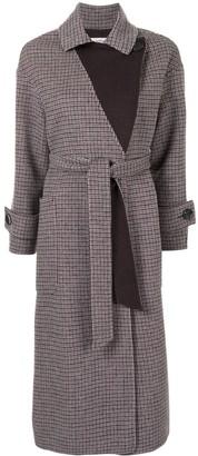 Onefifteen Mid-Length Belted Coat
