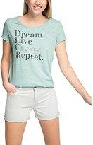 Esprit Women's 056EE1K030-Textprint T-Shirt