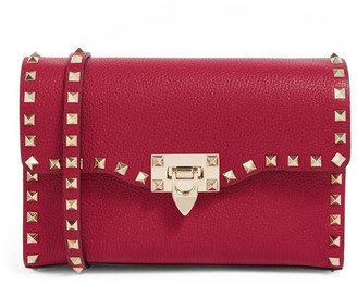 Valentino Garavani Small Leather Rockstud Cross-Body Bag
