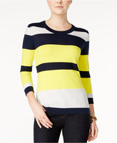 Tommy Hilfiger Hunter Striped Sweater, Only at Macy's
