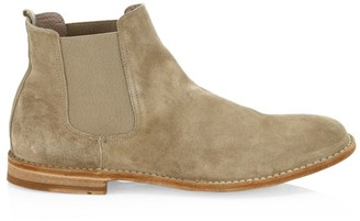 Officine Creative Steple Suede Chelsea Boots