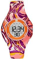 Skechers Women's 'Printed Unibody' Quartz Plastic Casual WatchMulti Color (Model: SR6110)