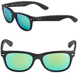 Ray-Ban 55mm Matte Square Wayfarer Sunglasses