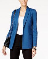 Alfani Petite Shawl-Collar Open-Front Blazer, Only at Macy's