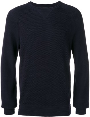 Ermenegildo Zegna Long-Sleeve Fitted Sweater