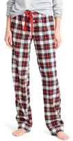 J.Crew Women's Whiteout Plaid Flannel Lounge Pants