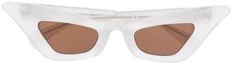 Kuboraum Pearl Effect Sunglasses