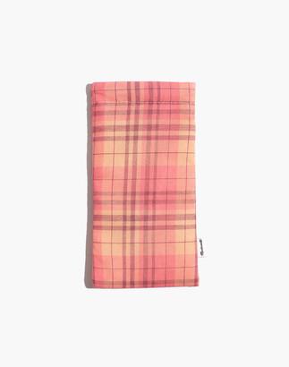 Madewell Soft Sunglass Case in Neon Stripe