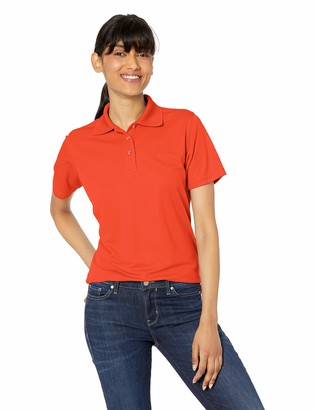 Clementine Women's Cool & Dry Mesh Pique Polo