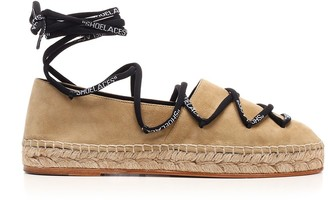 Off-White Off White Logo Lace-Up Espadrilles