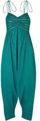Miguelina Calla Tasseled Fil Coupe Cotton Jumpsuit