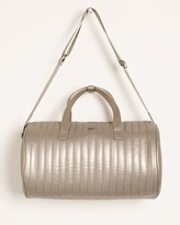 Chico's Chicos PurseN Getaway Pewter-Hued Gym Bag
