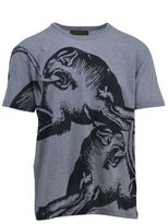 Valentino T-shirt With Panther Print