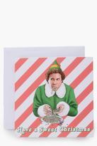 boohoo Elf Sweet Christmas Card